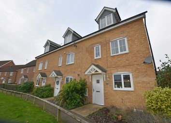 Thumbnail 4 bedroom end terrace house for sale in Skye Close, Peterborough