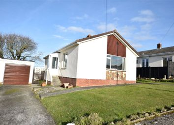 Thumbnail 2 bed bungalow for sale in Trelawney Avenue, Poughill, Bude