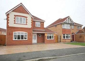 Thumbnail 4 bed detached house for sale in Sawyer Drive, Ashton-In-Makerfield, Wigan, Lancashire
