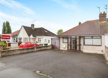 Thumbnail 2 bedroom semi-detached bungalow for sale in Stubby Lane, Wednesfield, Wolverhampton