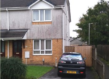 Thumbnail 2 bed semi-detached house to rent in Clos Cenawon, Morriston