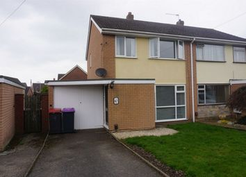 Thumbnail 3 bed semi-detached house for sale in Fieldhouse Drive, Muxton, Telford, Shropshire