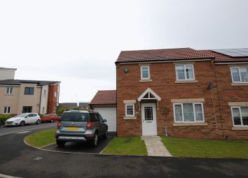 Thumbnail 3 bedroom semi-detached house for sale in Dunnock Place, Wideopen, Newcastle Upon Tyne