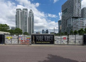 Thumbnail 2 bed flat for sale in Maine Tower, Canary Wharf, London