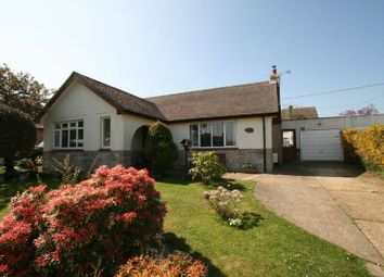 Thumbnail 3 bed detached bungalow for sale in Rew Street, Gurnard, Cowes
