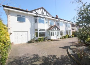 Thumbnail 4 bed detached house for sale in Far Moss Road, Crosby, Liverpool
