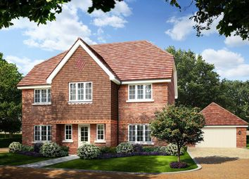 Thumbnail 5 bedroom detached house for sale in Larks Hill Place, Watersplash Lane, Warfield, Berkshire