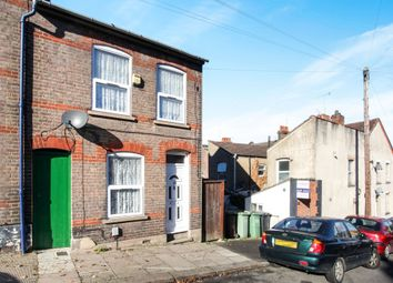Thumbnail 2 bedroom end terrace house for sale in Tennyson Road, Luton