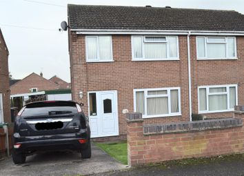 Thumbnail 3 bed semi-detached house for sale in John Street, Newhall, Swadlincote