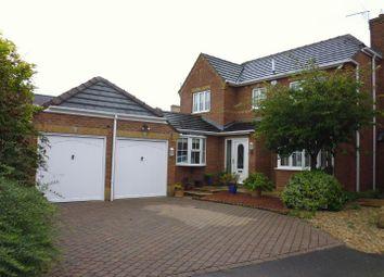 Thumbnail 4 bed detached house for sale in Norfolk Crescent, Bracebridge Heath, Lincoln
