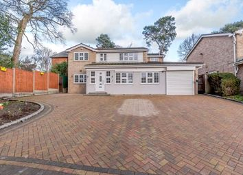 Thumbnail 5 bed detached house for sale in Larchwood Glade, Camberley