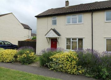 Thumbnail 2 bed semi-detached house to rent in Brittania Crescent, Lyneham, Wiltshire