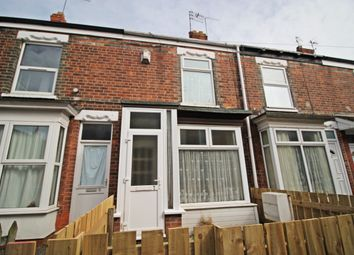 Thumbnail 2 bed terraced house for sale in Irenes Avenue, Perth Street West, Hull