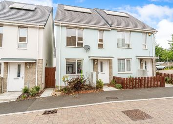 Thumbnail 2 bed semi-detached house to rent in Kestor Close, Plymouth