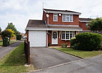 Thumbnail 3 bed detached house for sale in Leasowe Drive, Wolverhampton