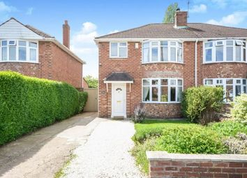 Thumbnail 3 bed semi-detached house for sale in Hunt Lea Avenue, Lincoln, Lincolnshire, .