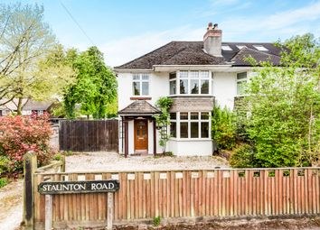 Thumbnail 4 bed semi-detached house for sale in Staunton Road, Headington, Oxford