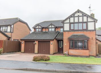 Thumbnail 4 bed detached house for sale in Willowbrook Close, Broughton Astley
