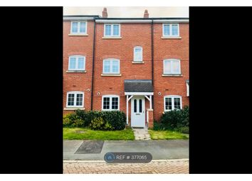 Thumbnail 4 bedroom terraced house to rent in Williamson Drive, Nantwich