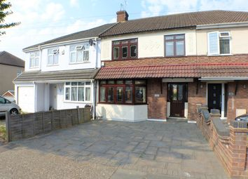Thumbnail 3 bed terraced house for sale in Harold Court Road, Harold Wood, Romford
