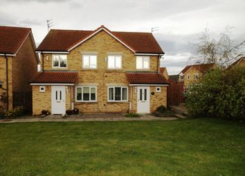 Thumbnail 3 bed semi-detached house for sale in Maple Drive, Widdrington, Morpeth