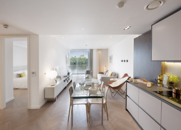 Thumbnail 2 bed flat to rent in Fladgate House, Battersea Power Station, Circus Road West, London