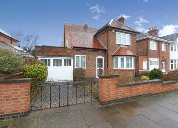 Thumbnail 3 bed detached house for sale in Ashleigh Road, Leicester