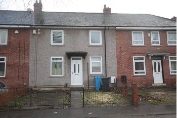 Thumbnail 3 bed terraced house to rent in Raisen Hall Road, Sheffield