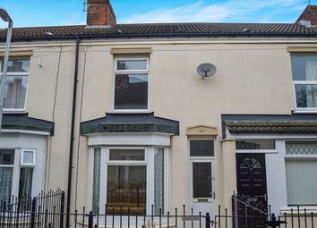 Thumbnail 2 bed terraced house for sale in Ernests Avenue, Holland Street, Hull
