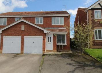 Thumbnail 3 bed semi-detached house to rent in Lancaster Walk, Worksop, Nottinghamshire
