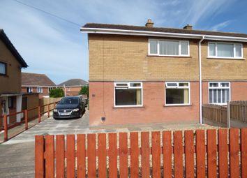 Thumbnail 3 bed semi-detached house for sale in Fellside Grove, Carlisle
