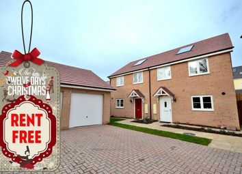 Thumbnail 3 bed detached house to rent in Strachey Close, Saffron Walden