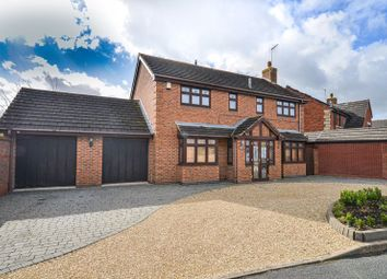 Thumbnail 4 bed detached house for sale in Coldicott Gardens, Evesham