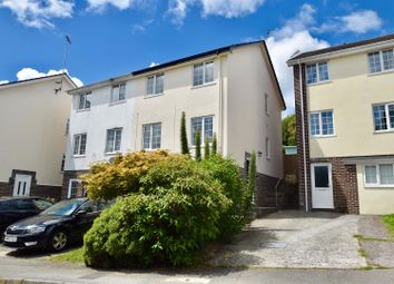 Thumbnail 3 bed semi-detached house for sale in Pengarth Rise, Falmouth