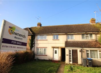 Thumbnail 4 bed terraced house for sale in Kingsley Avenue, Englefield Green, Surrey