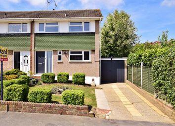 Thumbnail 3 bed semi-detached house for sale in Bettescombe Road, Rainham, Kent
