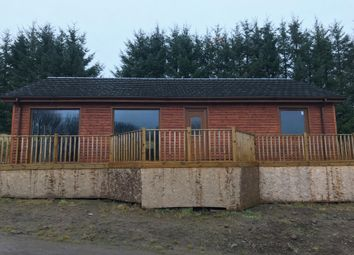 Thumbnail 3 bed detached house for sale in Braehead Park, Hillview Lodges, Kinross, Perth & Kinross