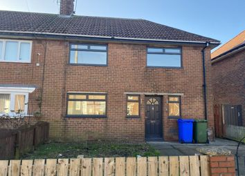 Thumbnail 3 bed semi-detached house to rent in Callerdale Road, Blyth