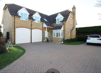 Thumbnail 5 bed detached house for sale in Perkins Lane, Maxey, Market Deeping, Cambridgeshire