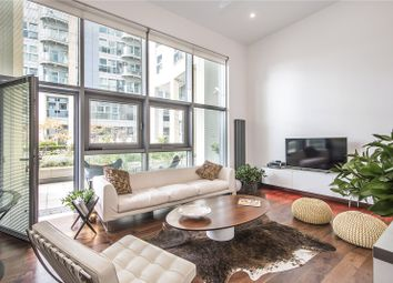 Thumbnail 2 bedroom flat for sale in Orbis Wharf, Bridges Court Road, London