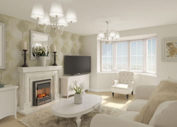 "Thumbnail 4 bed detached house for sale in ""Rothbury"" at High Street, Watchfield, Swindon"