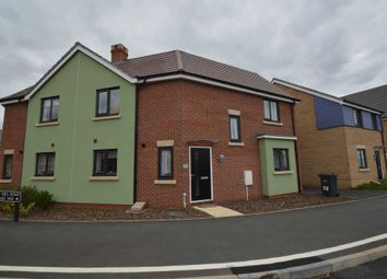 Thumbnail 3 bed semi-detached house for sale in Fieldfare Way, Queens Hill, Norwich