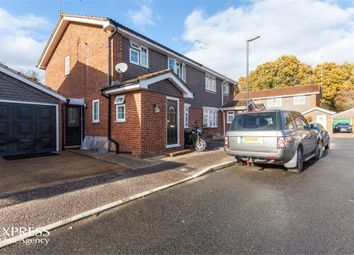 Thumbnail 3 bed semi-detached house for sale in Yarmouth Close, Crawley, West Sussex