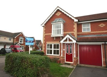 Thumbnail 3 bed semi-detached house to rent in Purslane Gardens, Fareham