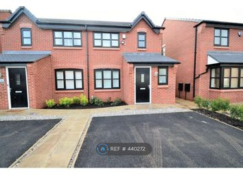 Thumbnail 3 bed semi-detached house to rent in Cassidy Way, Eccles, Manchester