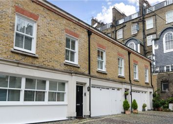 Thumbnail 3 bed mews house to rent in Conduit Mews, Hyde Park Estate, London