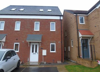 Thumbnail 3 bed terraced house for sale in Oakmont Rise, Ashington