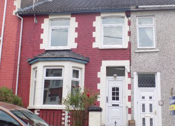 Thumbnail 3 bed terraced house for sale in Coronation Road, Six Bells, Abertillery.