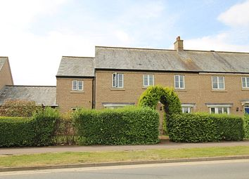 Thumbnail 4 bed semi-detached house for sale in Back Lane, Great Cambourne, Cambridge