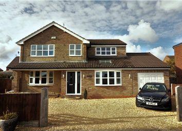Thumbnail 4 bed detached house for sale in Cobble Lane, Eastrington, Goole